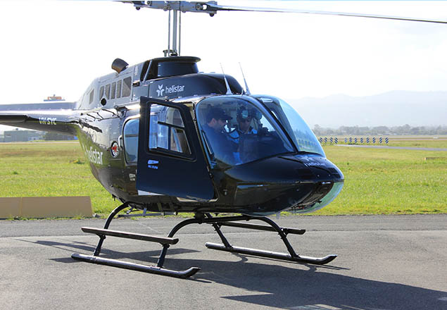 Helistar Flight Training Helicopter